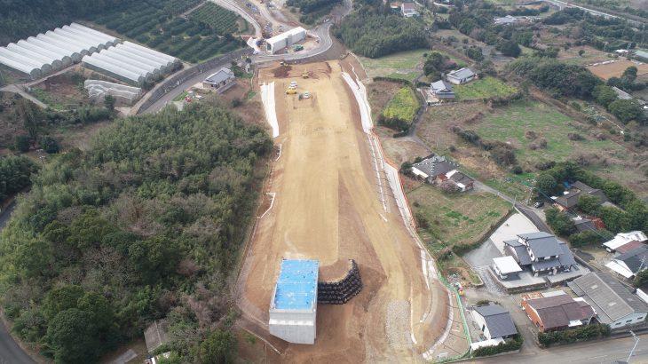 鹿児島3号切通地区2工区改良工事